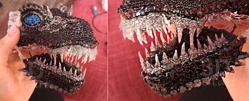 Поделки 3D ручкой. Дракон Визерион из Игра престолов