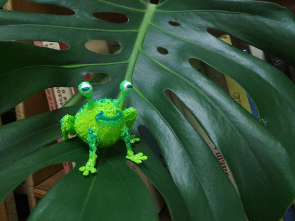 Поделки 3D ручкой. Лягушка, созданная на занятиях.