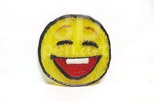 Мастер-класс 3D ручкой значок улыбающий смайлик 2