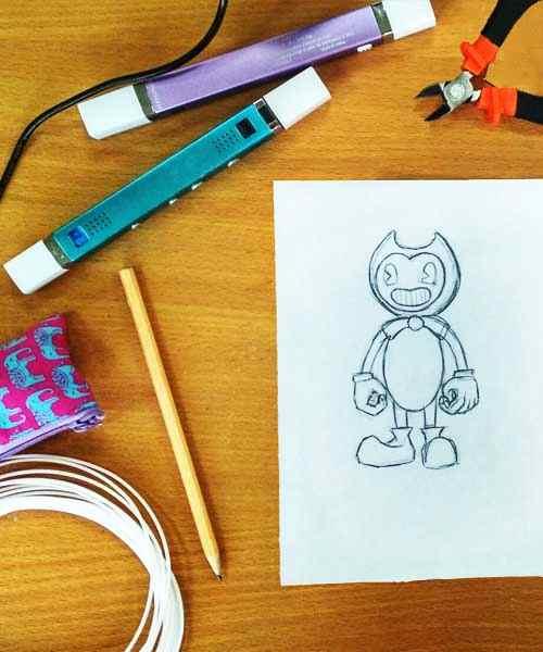 Трафареты для 3D ручки от проекта 3Ддлядетей