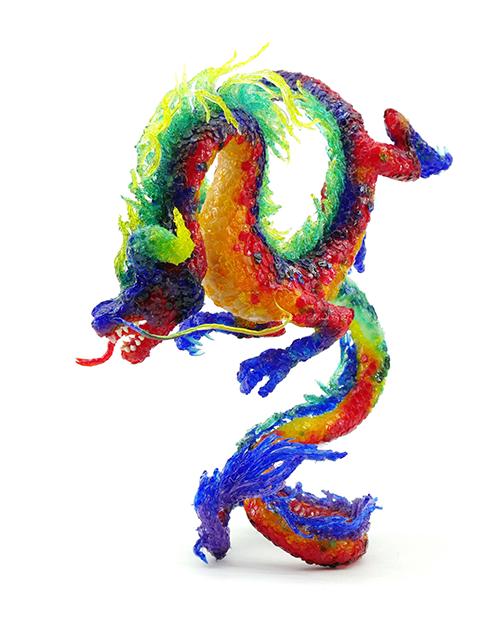 дракон 3д ручкой от проекта 3ддлядетей